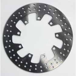 Front round brake disc for Kawasaki KLR 650 A 1987-1989