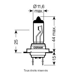 Osram - Ampoule H7 - 12V 55W Px26d