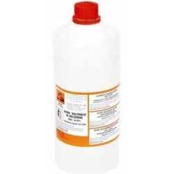 Sulfuric acid bottle of 1 liter