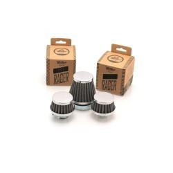 Filtre à air conique Ø45 mm chromé