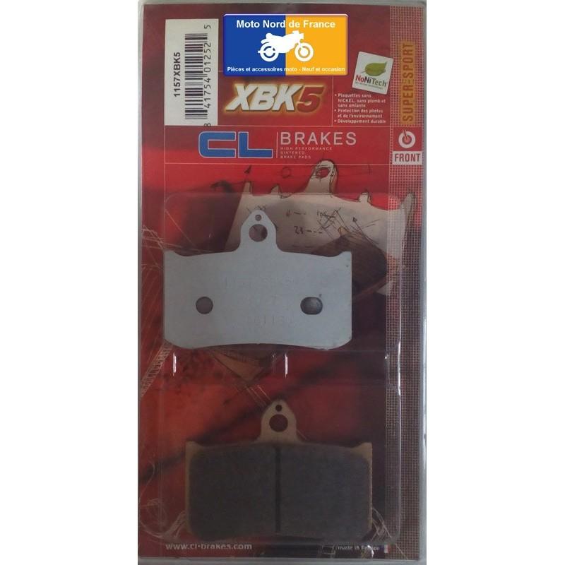Set of pads type 1157 XBK5