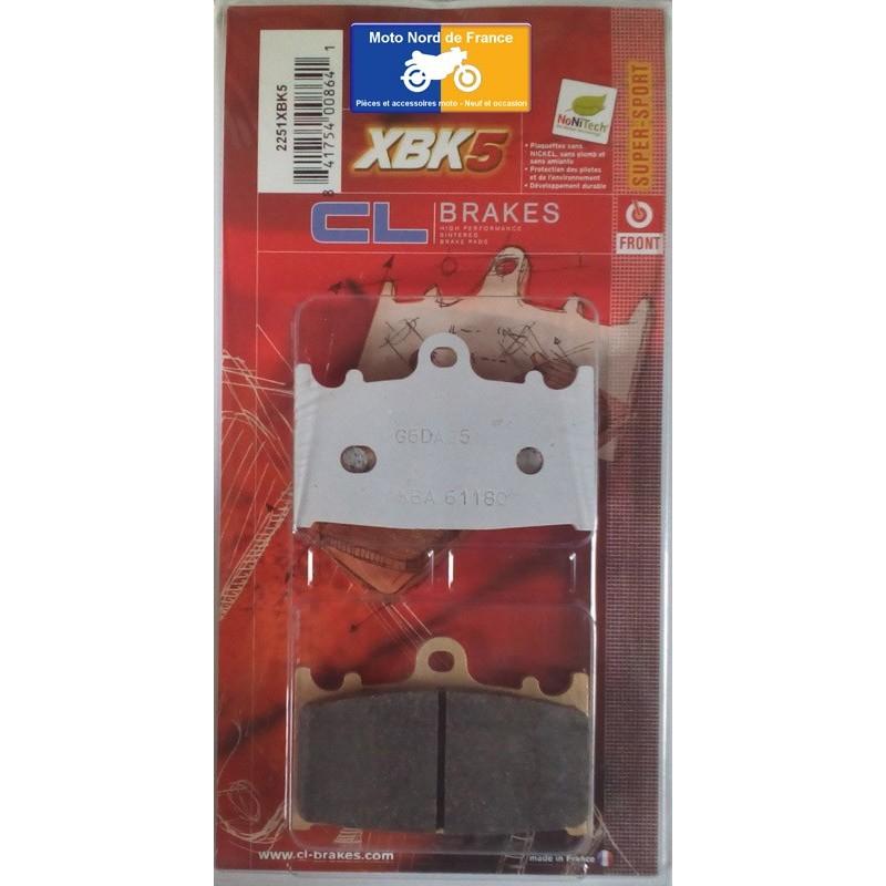Set of pads type 2251 XBK5