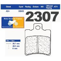 Jeu de plaquettes type 2307 XBK5