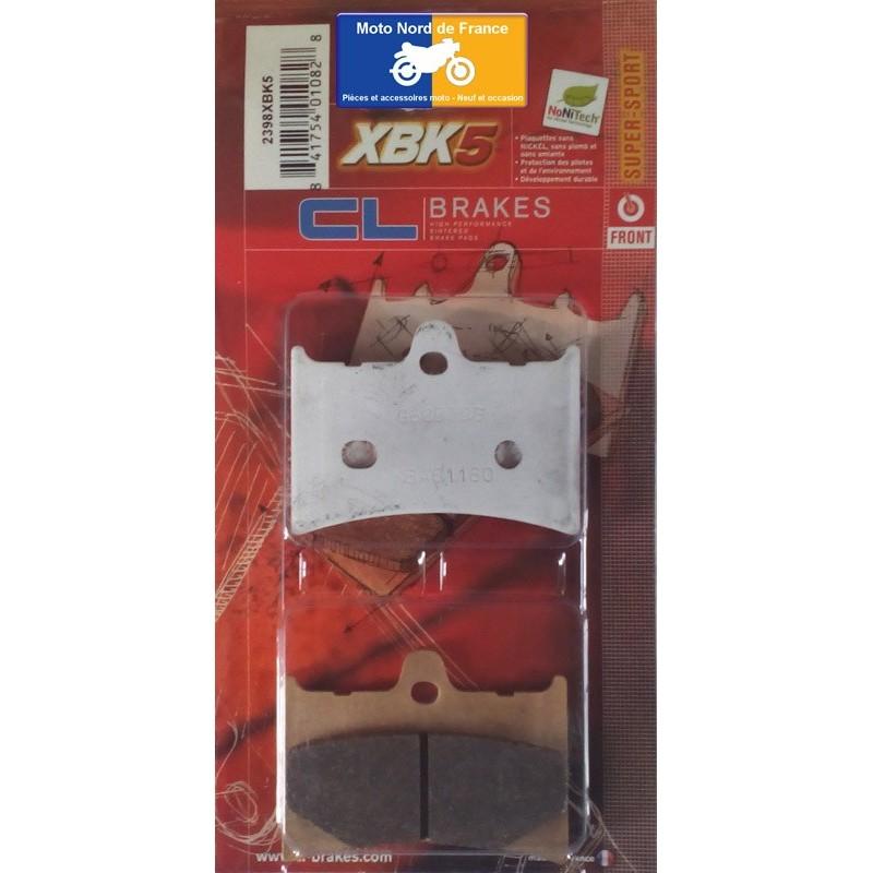 Set of pads type 2398 XBK5