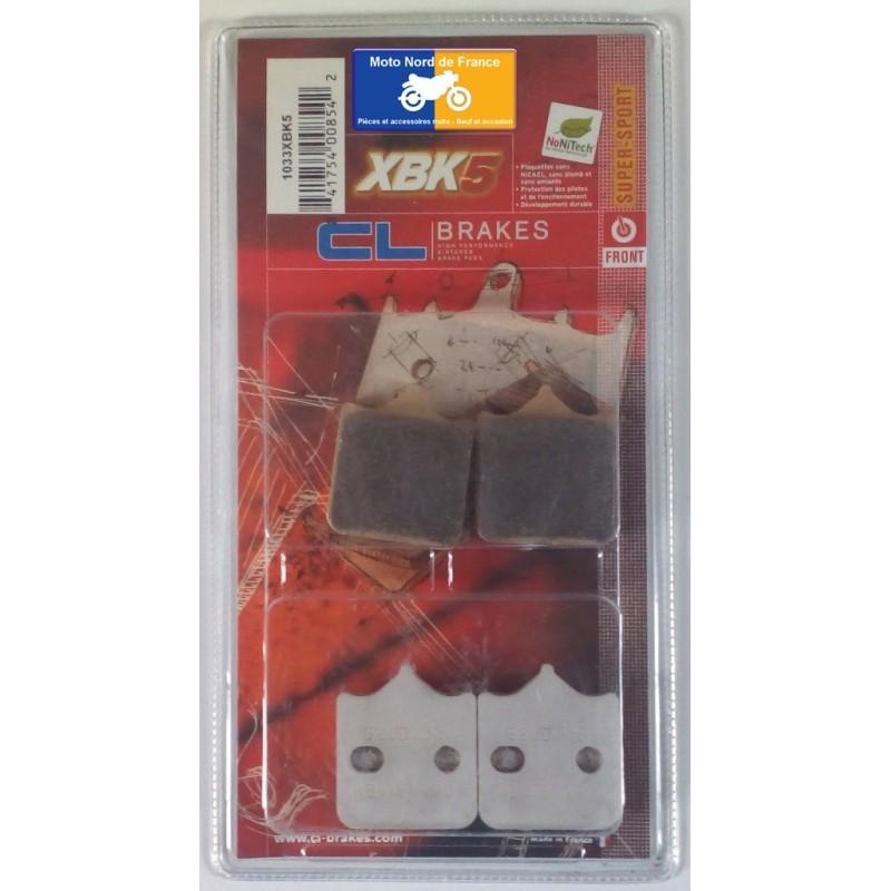 Set of pads type 1033 XBK5