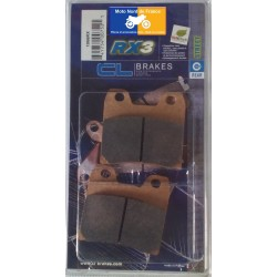 Set of pads type 1066 RX3
