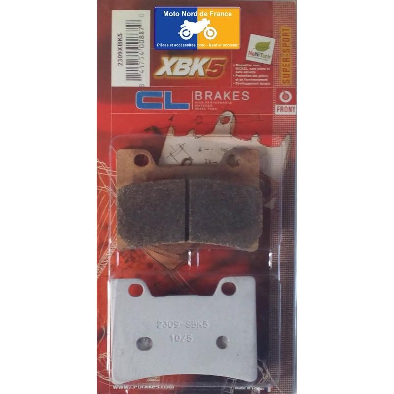 Set of pads type 2309 XBK5