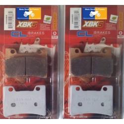 2 jeux de plaquettes type 2309 XBK5