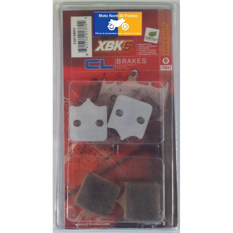 Set of pads type 1207 XBK5