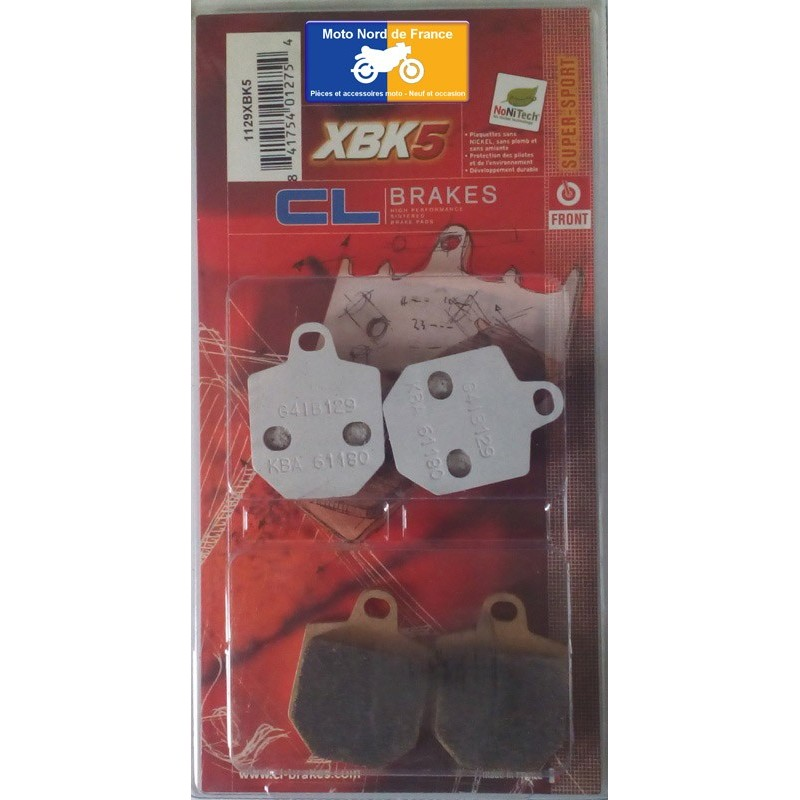 Set of pads type 1129 XBK5