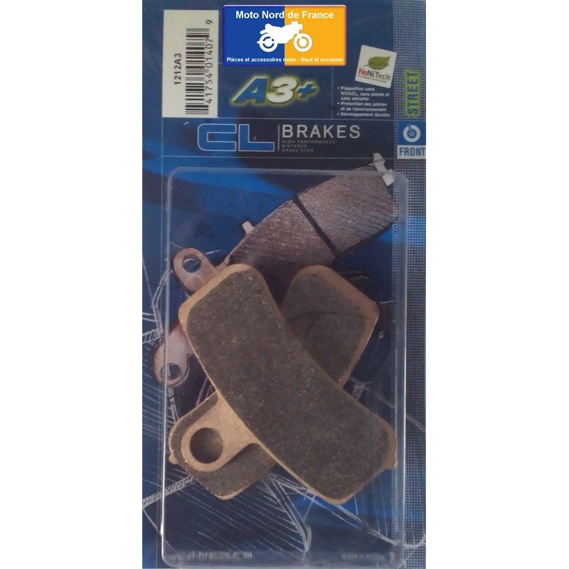 Set of pads type 1212 A3+