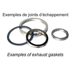 Joint d'échappement rond cuivre 37x45x4