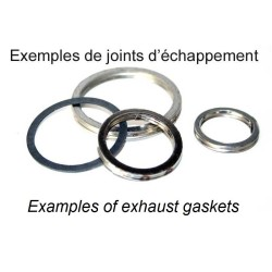 Exhaust gasket round steel 35x43x3.5 mm