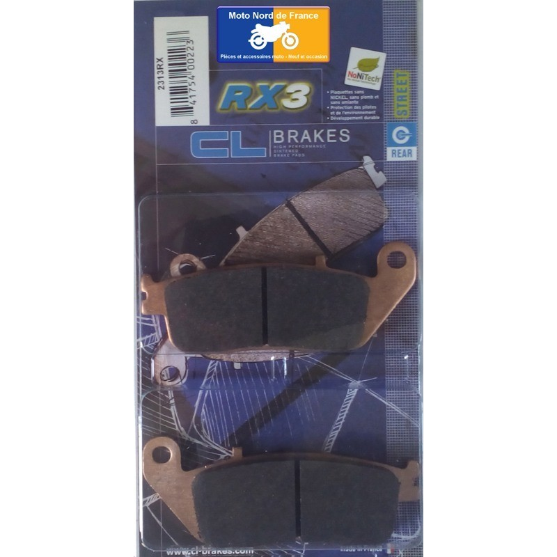 Set of pads type 2313 RX3