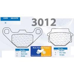 Set of pads type 3012 SC