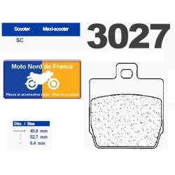 Set of pads type 3027 SC