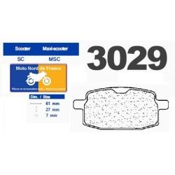 Set of pads type 3029 MSC