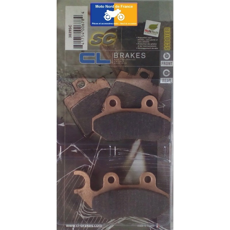 Set of pads type 3039 SC