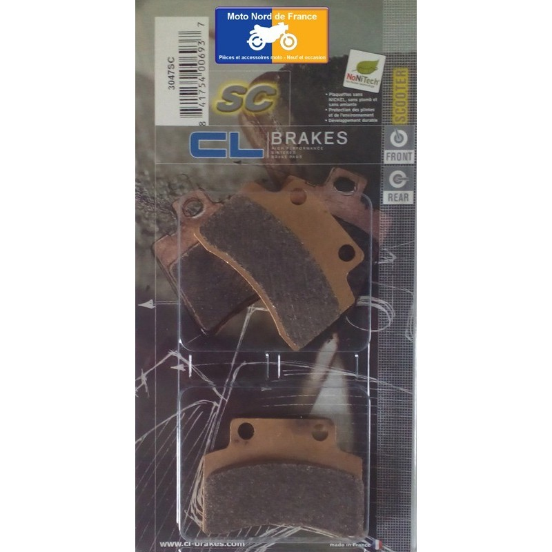 Set of pads type 3047 SC