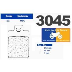 Set of pads type 3045 MSC