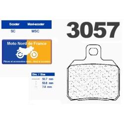 Set of pads type 3057 MSC