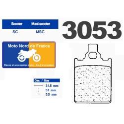 Set of pads type 3053 MSC