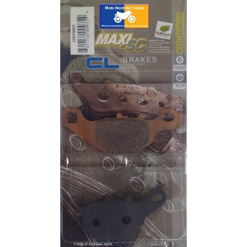 Set of pads type 3051 MSC