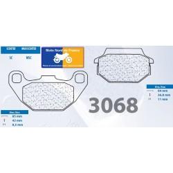 Set of pads type 3068 MSC