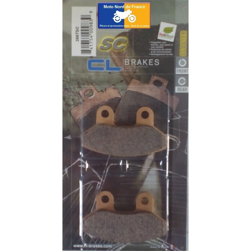 Set of pads type 3067 SC