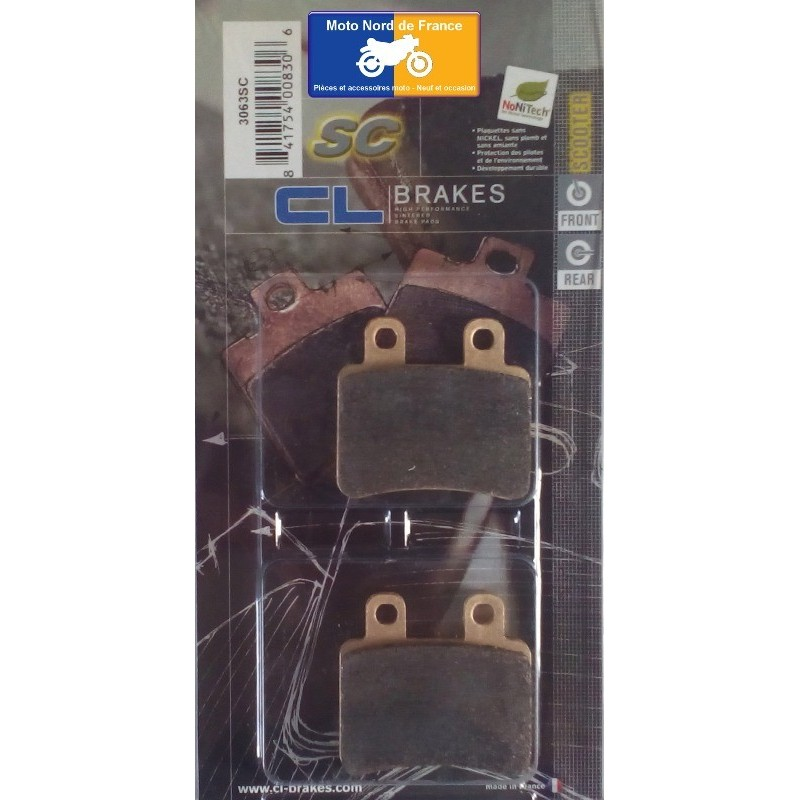 Set of pads type 3063 SC