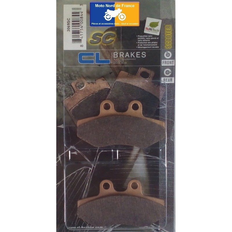Set of pads type 3069 SC