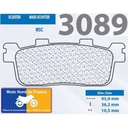 Jeu de plaquettes type 3089 MSC