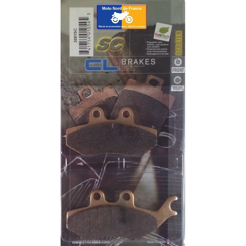 Set of pads type 3081 SC