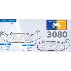 Set of pads type 3080 MSC