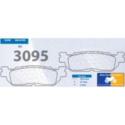 Set of pads type 3095 MSC