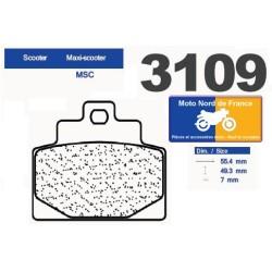 Set of pads type 3109 MSC