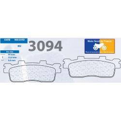 Set of pads type 3094 MSC