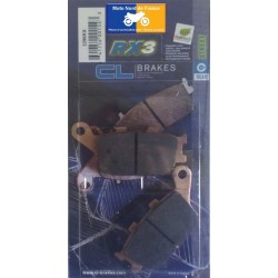 Set of pads type 2296 RX3