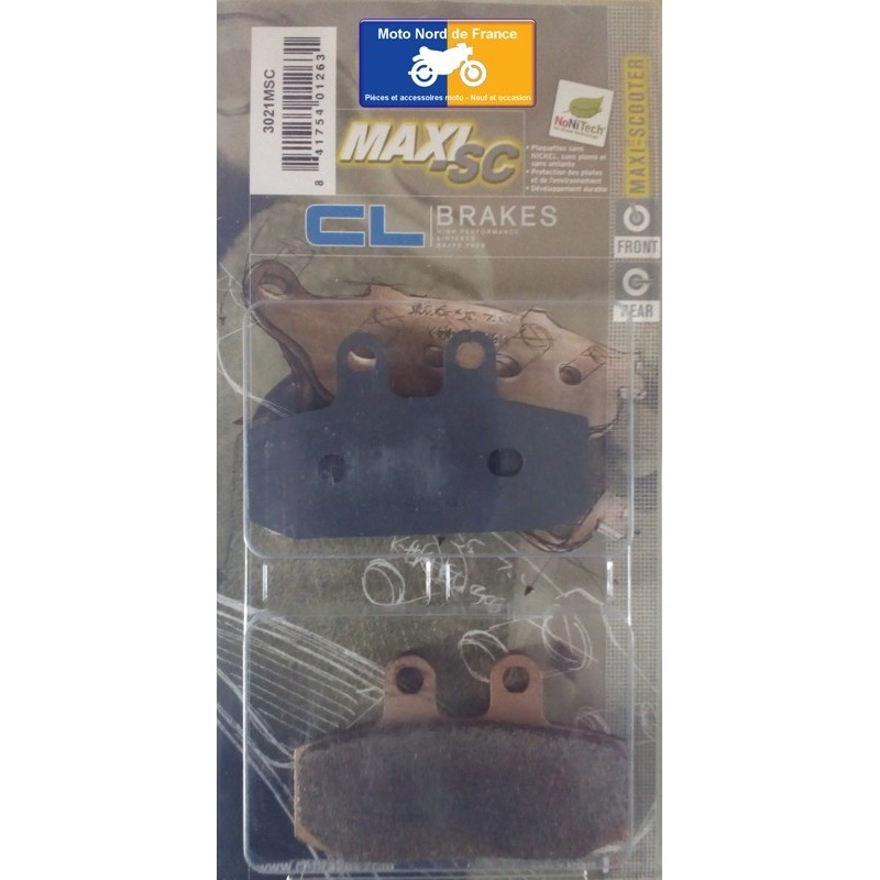 Set of pads type 3021 MSC