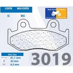 Set of pads type 3019 MSC