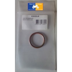 Exhaust gasket round copper 42x35.5x4 mm