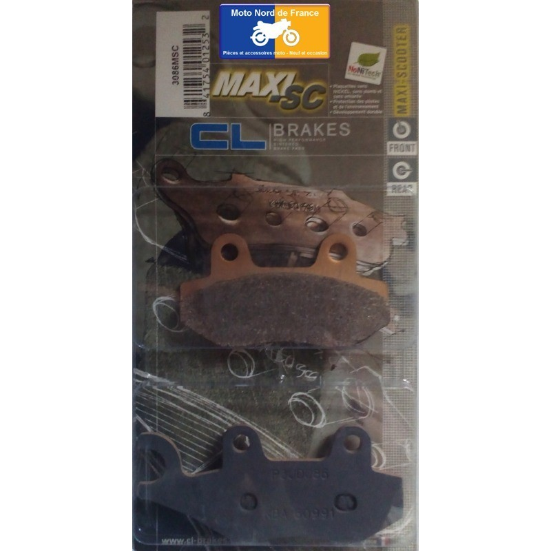 Set of pads type 3086 MSC