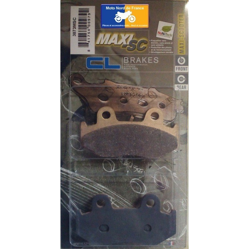 Set of pads type 3073 MSC