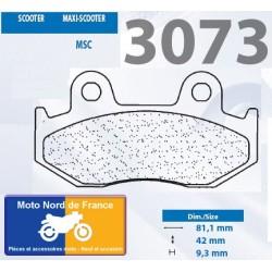 Set of pads type 3073 MSC