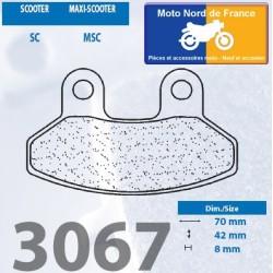 Jeu de plaquettes type 3067 MSC