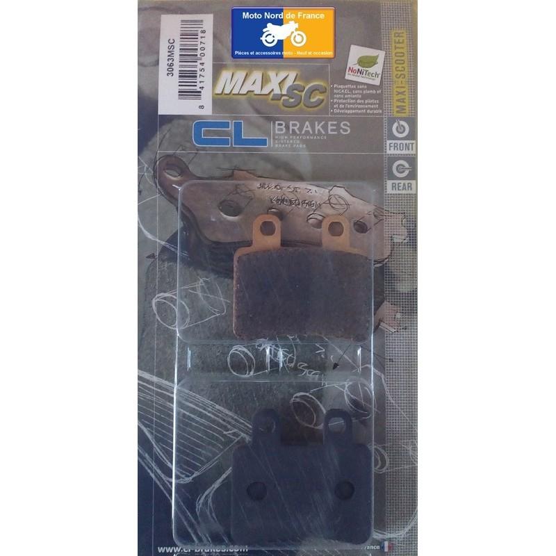 Set of pads type 3063 MSC