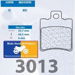 Set of pads type 3013 SC