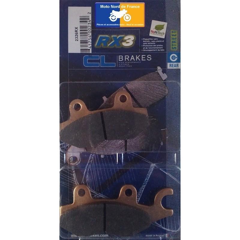 Set of pads type 2326 RX3