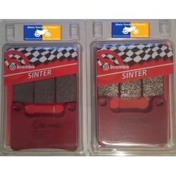 2 Jeux de plaquettes avant Brembo SA pour Suzuki GSX-R 600 / 750 2004-2010