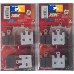 2 Sets of front brake pads for Suzuki M 1600 Intruder 2005+